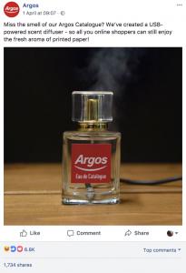 Argos Social Media: Day 1 – Megan Innes